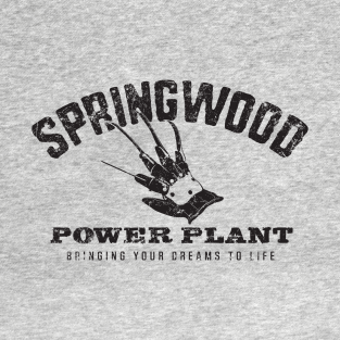 Springwood Power Plant t-shirts
